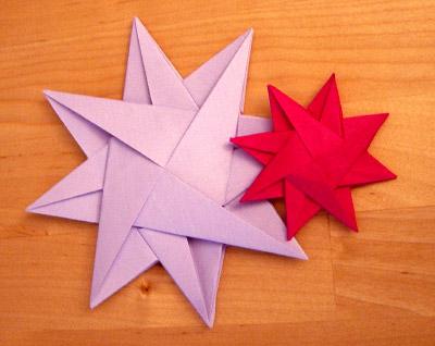 origamipage mix von sternen. Black Bedroom Furniture Sets. Home Design Ideas