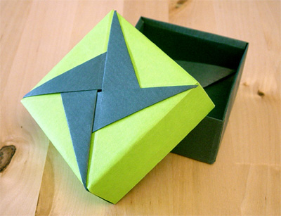 origamipage viereckschachteln. Black Bedroom Furniture Sets. Home Design Ideas